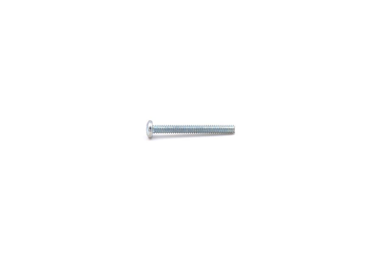 Linsenschrauben Stahl ZN UNC #4 x 1/4 mit Kreuzschlitz